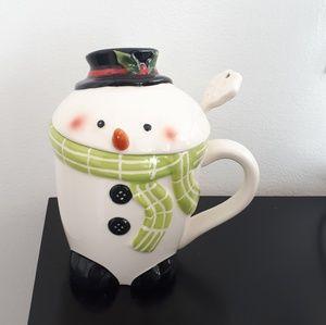 Other - Snowman Sugar Bowl